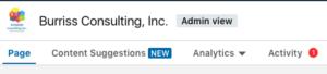 LinkedIn Compay Page Mgmt