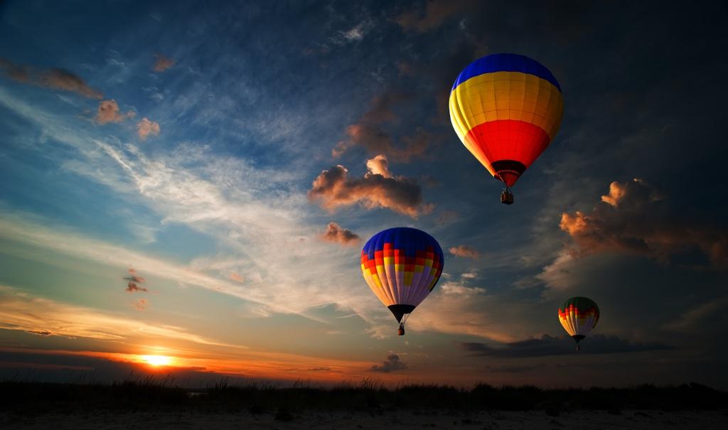 Teddy Burriss - Balloon in sky Journey