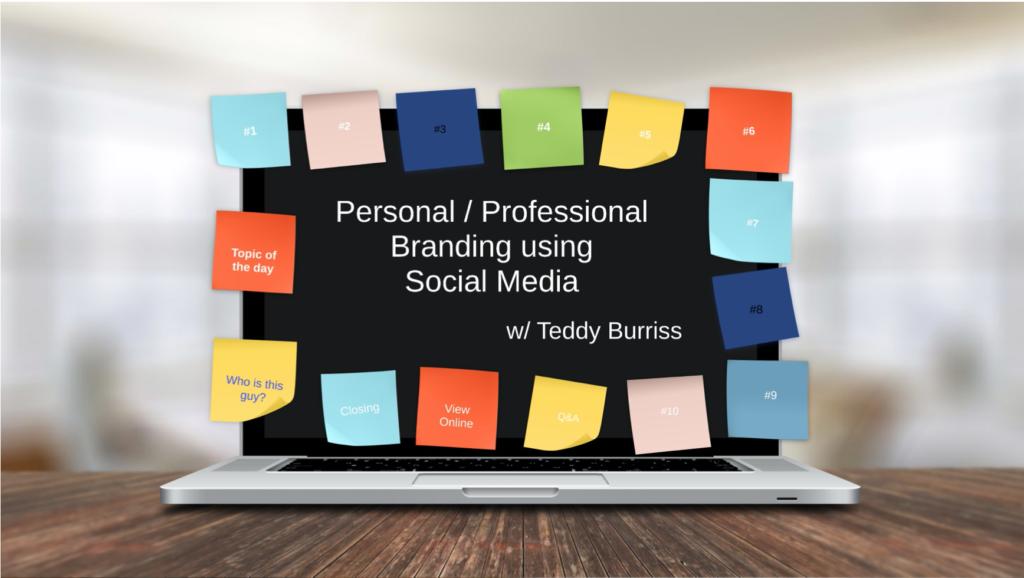 Teddy Burriss - LinkedIn Strategist, Trainer & Coach providing LinkedIn Training - ASQ QIT Presentation